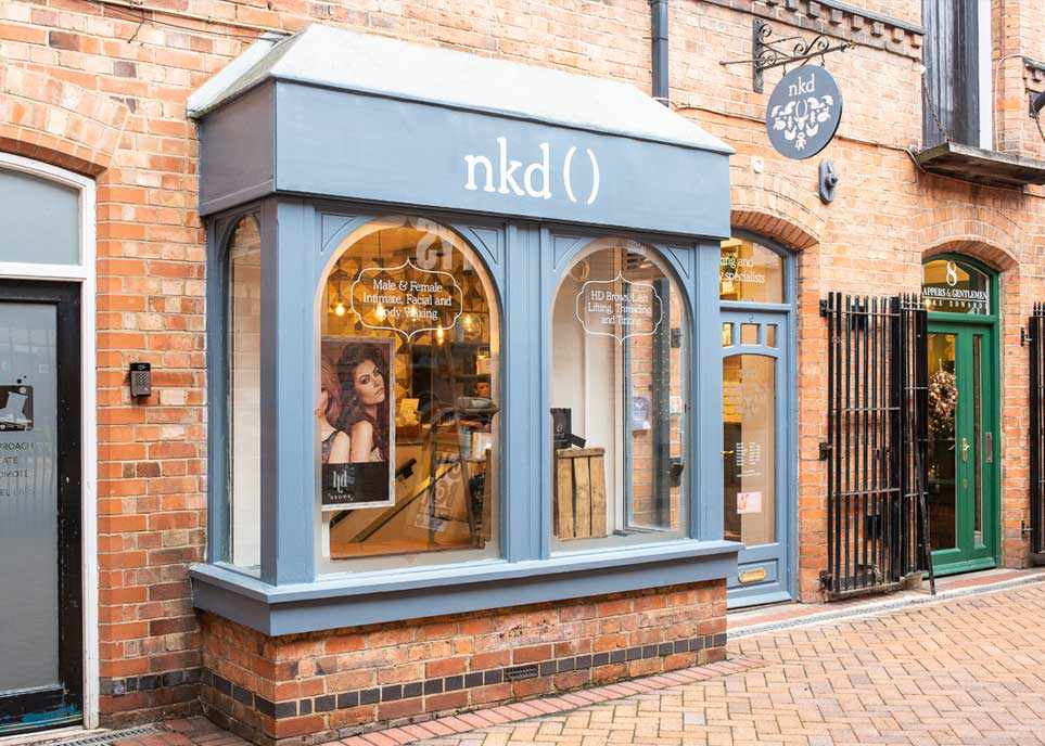 nkd award winning salon Leicester